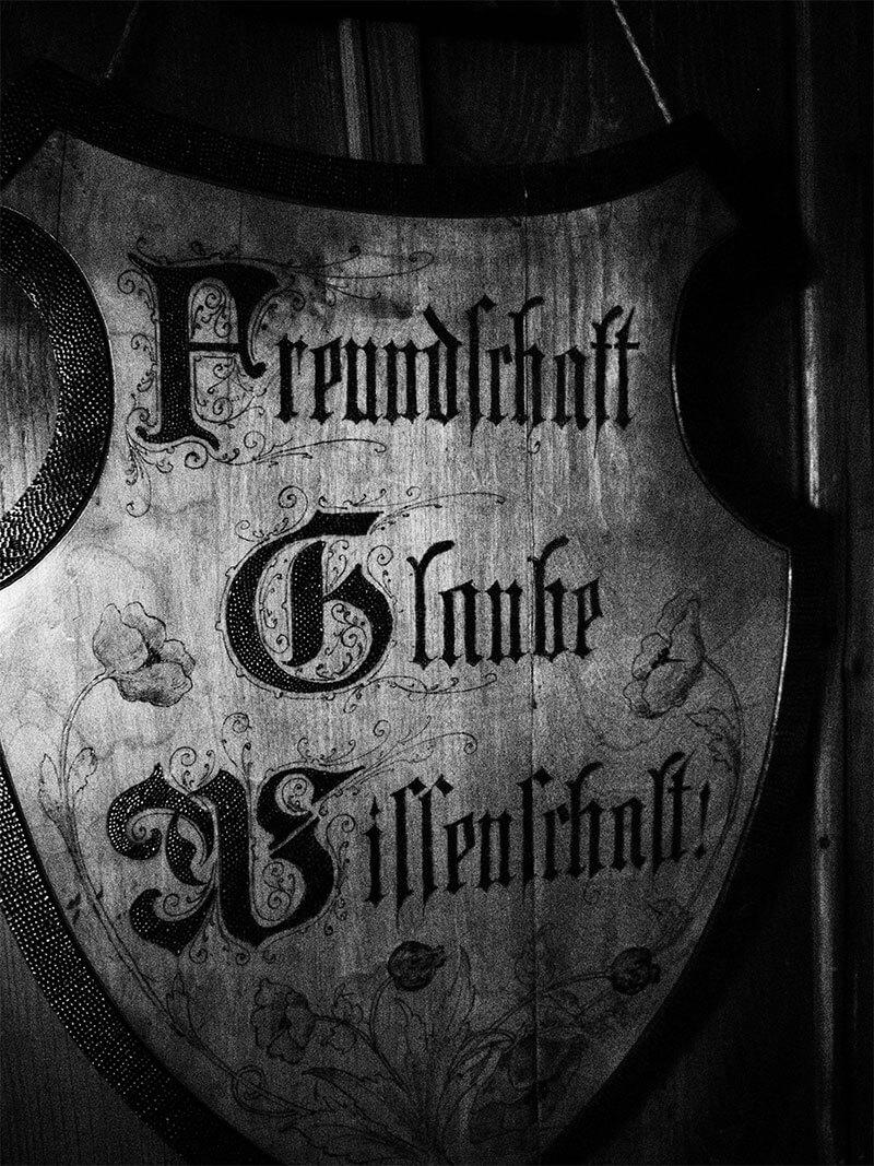 Glaube Freundschaft Wissenschaft Wappen Föhrberg Tübingen